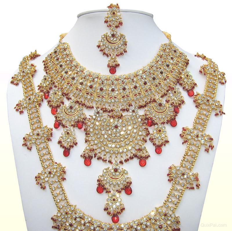 Bollywood Jodha Akbar Bridal Jewellery Jewelry Set 811