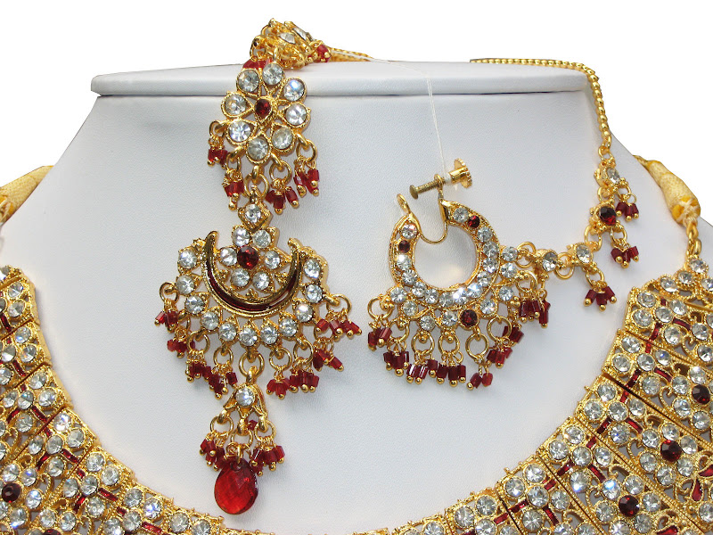 Jodha Akbar Bridal Set 004 - Nose Jewlery ""