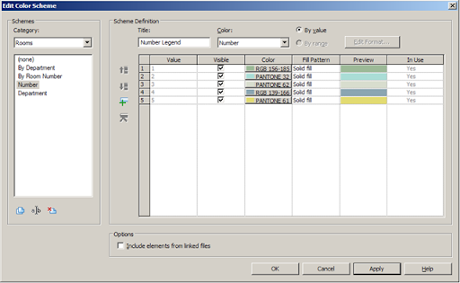 Revit revit zoom in and out of the edit colour scheme dialogue all you need to do is place your mouse pointer in the scheme definition window part of the edit color scheme dialogue then hold down the control key on ccuart Choice Image