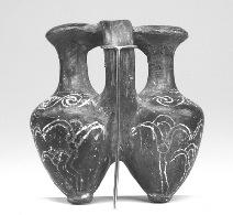 egyptian lotus vase