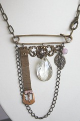 Safety Pin Necklace.2
