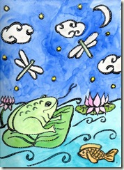 frog journal page august 2009