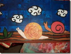 snail painting four