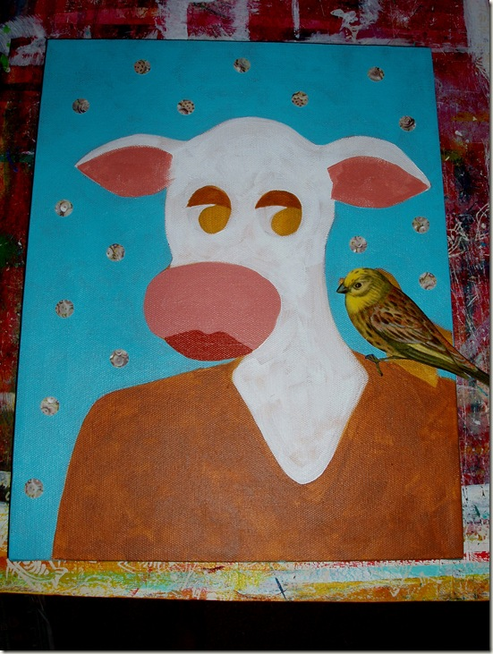 cow in process two