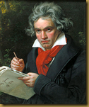 Beethoven - A portrait by Joseph Karl Stieler, 1820