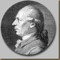 Philidor Portrait from L'analyze des échecs. London, second edition, 1777.