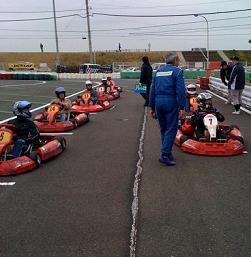 フレンド耐久40分レース スターティンググリッド