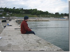 Lyme Regis Fishing 28th May 2010 09