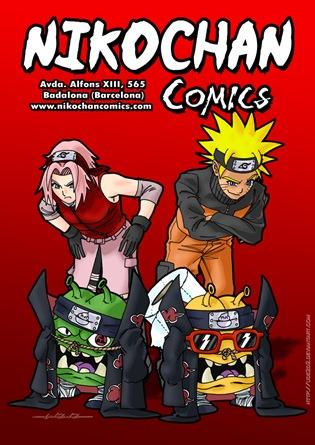 Cartel Nikochan Comics