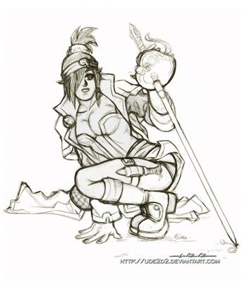 Silvana, personaje creado por Aru