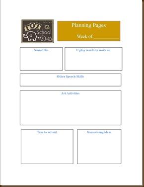 planning page Alex