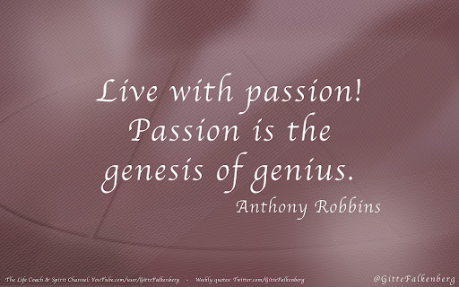 how to know your passion in life
