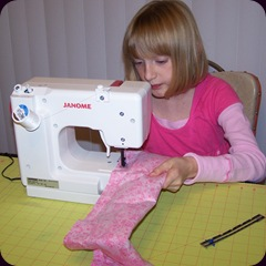 addie sewing