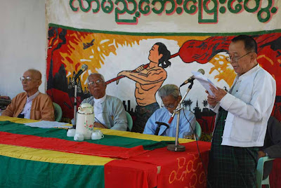 >Burmese Senior Politicians marked 61st Anniversary of Burmese Independence