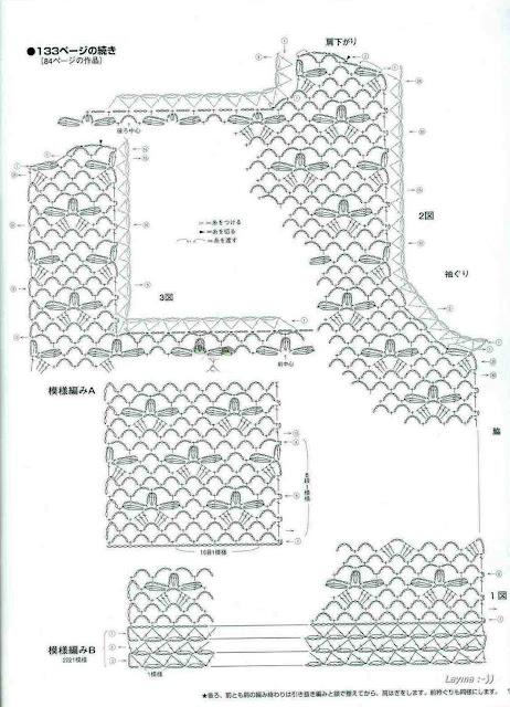COMPTE_BLOGOF andreiatur : croche com a natureza, BLUSAS DE TRICO E CROCHE COM GRAFICO