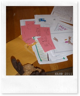 Moosey-Moose Opens His Snail Mail