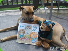 Sleepy Bear and Tsavo Introduce the Book