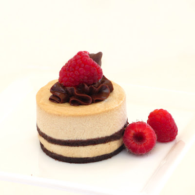 White Chocolate Mocha Mousse Cake