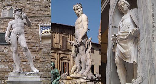 firenze6 - Visitando – Florença na Itália