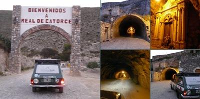 Ver tunel Ogarrio- Real de 14