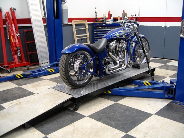 Elevador profesional de motos