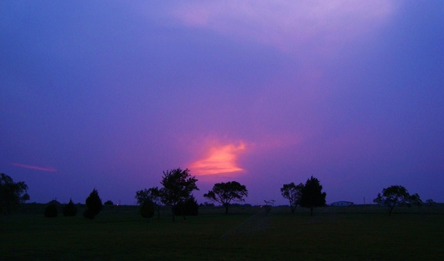 Sunset May 8,2009 001