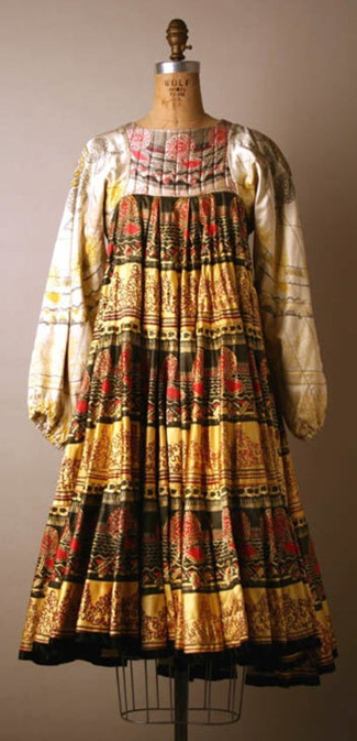 Zandra Rhodes dress 1969