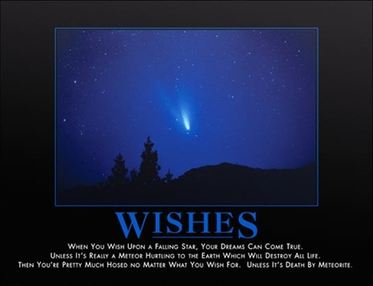 Wishes Poster @ www.despair.com
