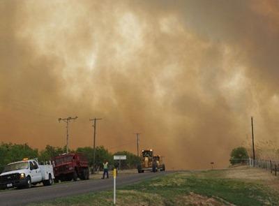 Wichita Falls / Iowa Park fire