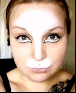 maquillaje de gata