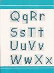 abecedarios punto de cruz. (182)