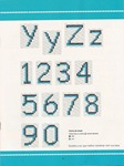 abecedarios punto de cruz. (183)