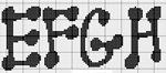 abecedarios punto de cruz. (187)