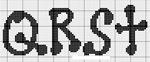 abecedarios punto de cruz. (193)