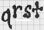 abecedarios punto de cruz. (194)