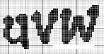 abecedarios punto de cruz. (196)