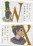 abecedarios punto de cruz. (229)