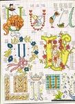 abecedarios punto de cruz. (354)