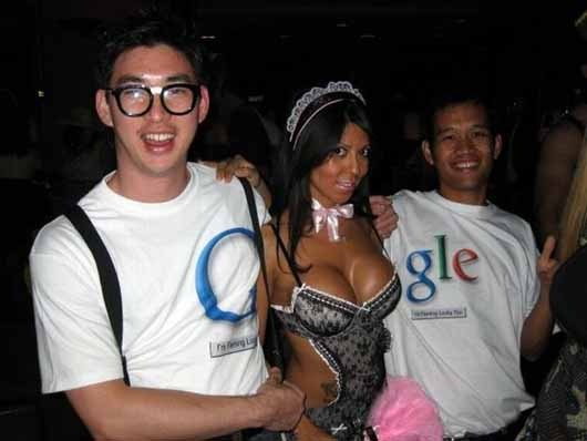 disfraz de google