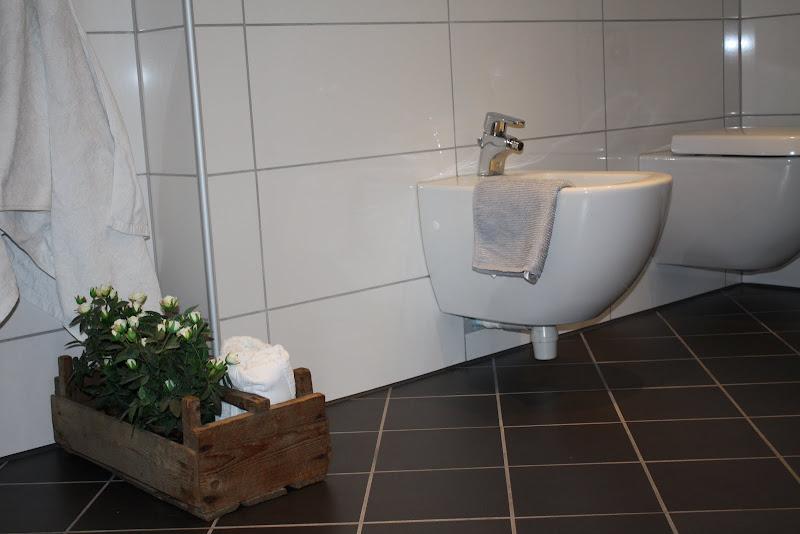 Mitt hvite hus små glimt av et bad med utrolig flotte detaljer