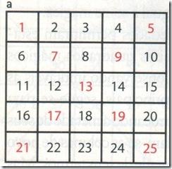 Quadrado Mágico a