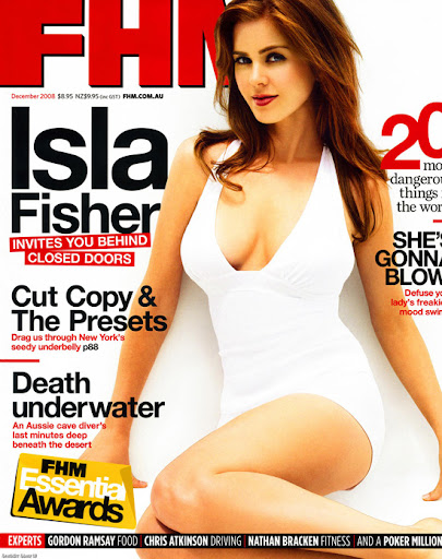 Isla Fisher - FHM Magazine December 2008. Posted: 07 Dec 2008 04:41 PM PST