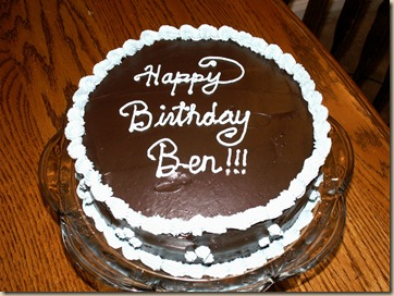 Ben's 24th Birthday