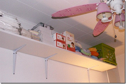 Doable Diapers gets a makeover - new shelving!