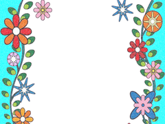 moldura florida