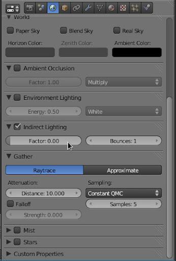 Indirect Lighting Blender 2.5 2