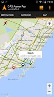 Screenshot of GPS Arrow Navigator PRO