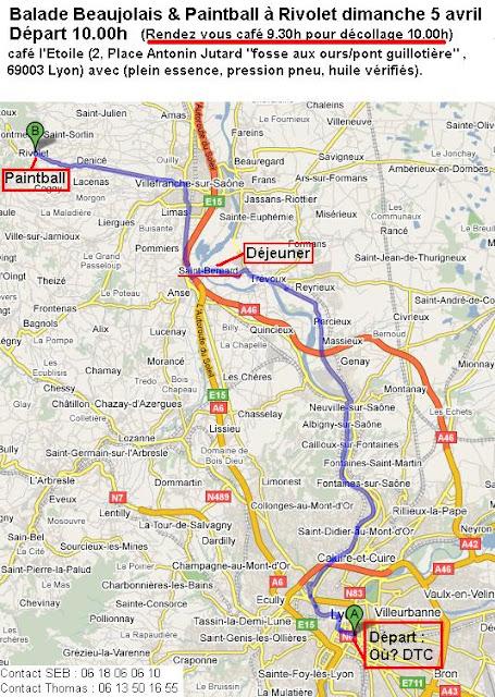 Balade Beaujolais & Paintball à Rivolet dimanche 5 avril 2009 Plan%20route%205%20avril%202009%20VCL