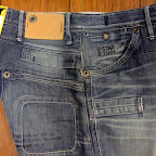 Detaljer på G-satr jeans