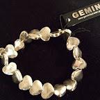 Gemini armband hjärtan 139 kr